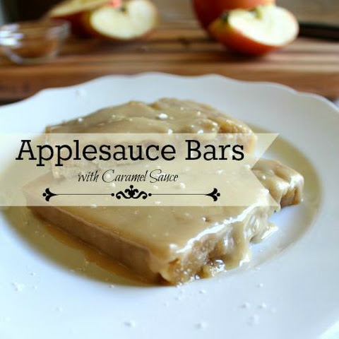 APPLESAUCE BARS