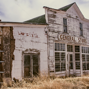 Once Vibrant Store by Gwen Paton - Buildings & Architecture Decaying & Abandoned ( colorado, general store )