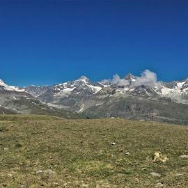 by Phil Bear - Landscapes Mountains & Hills ( zermatt, mountains, alps, switzerland, matterhorn )