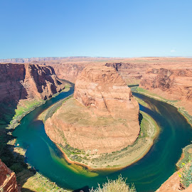 Horseshoe Bend by Zack Massey - Landscapes Deserts ( water, colorado river, desert, page, arizona, canyon, red rocks, horseshoe bend, river, grand canyon )