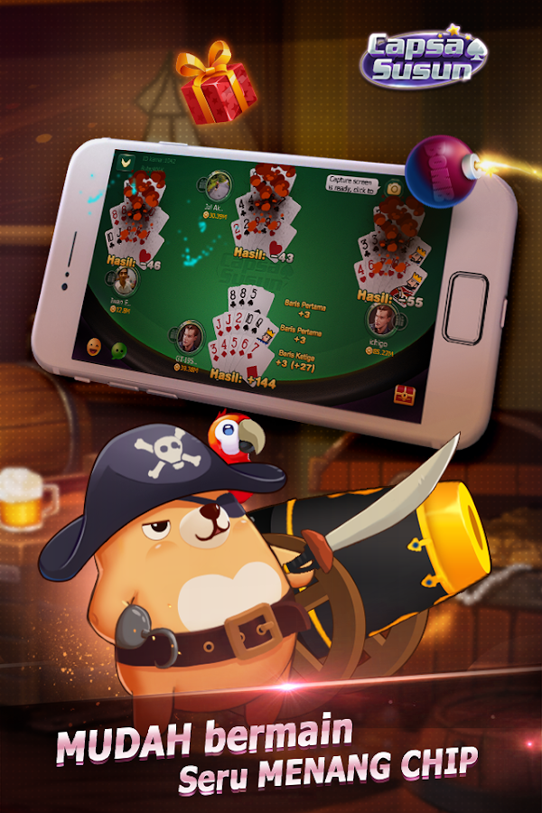 Capsa Susun(Free Poker Casino) Screenshot 4