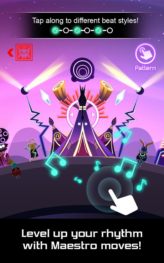 Groove Planet Beat Blaster MP3 Screenshot 1