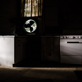 Old Appliances by Trey Walker - Novices Only Objects & Still Life ( nikon, abandon, light, shadows, abandoned )