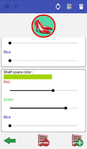 Shopping List Watch - screenshot