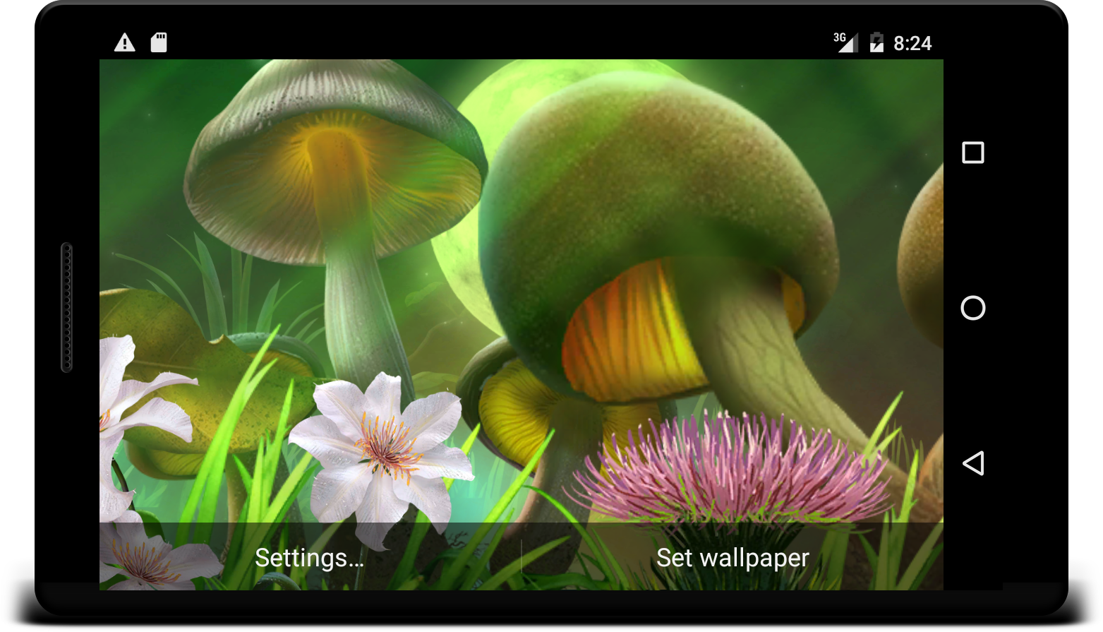 Nature live wallpaper Screenshot 11