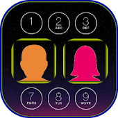 Couple Photo Keypad LockScreen APK for Bluestacks