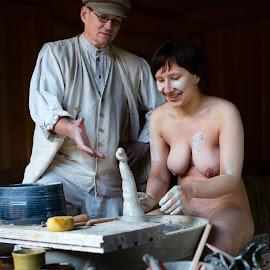 Oh My God! by Meelis Adamson - Nudes & Boudoir Artistic Nude