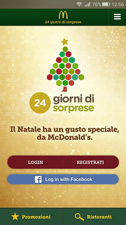 McDonald's Italia Screenshot