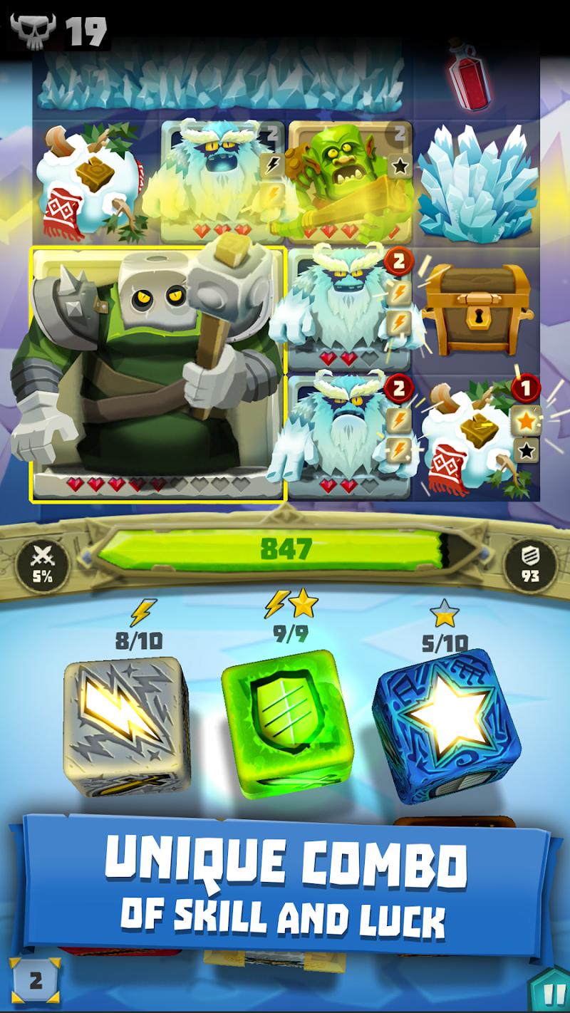 Dice Hunter: Dicemancer Quest Screenshot 1