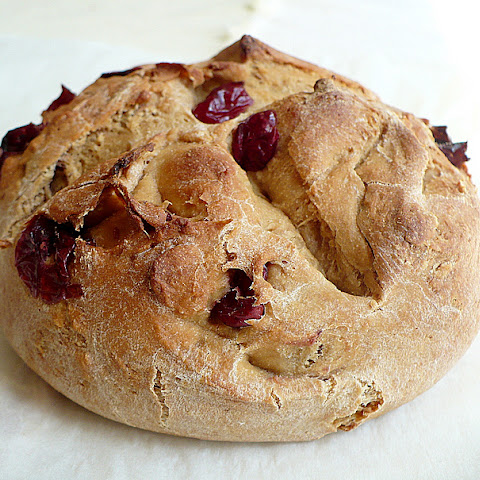 Whole Wheat Cranberry-Apricot Bread