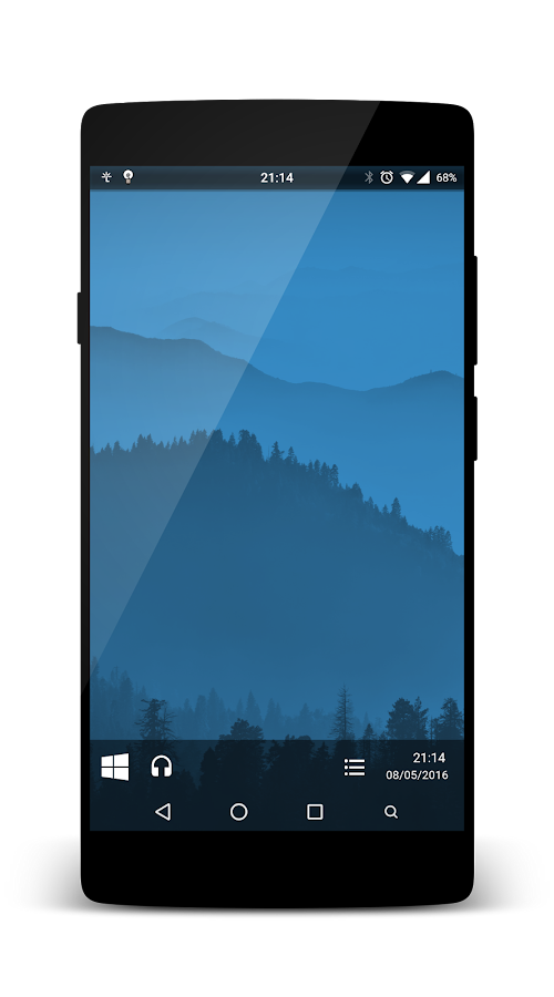 KLWP W10 FRESH Screenshot 0