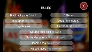 Screenshot of Blackjack Genius