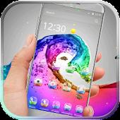 Rainbow Wave Theme APK for Lenovo