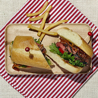 Soy Vay Veri Veri Teriyaki Steak Sandwich Recipe From Polker's