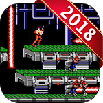 Classic Metal Soldier - 2 Games Contra Icon