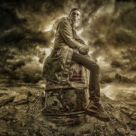 i am by Charles Mawa - Digital Art People ( digital art )