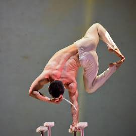 Chinese acrobat  by Heidi Austin - Novices Only Portraits & People ( acrobat, china )