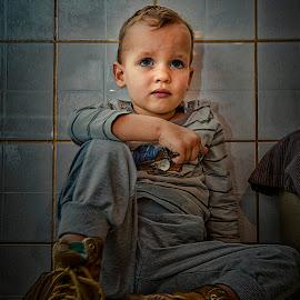 Nephew by Jurica Žumberac - Babies & Children Child Portraits ( child, children, portrait )