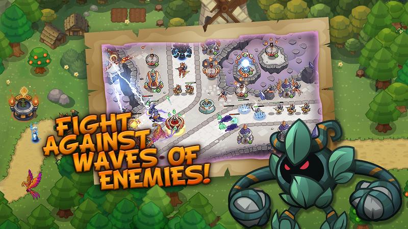 Realm Defense: Hero Legends TD Epic Strategy Game Screenshot 3