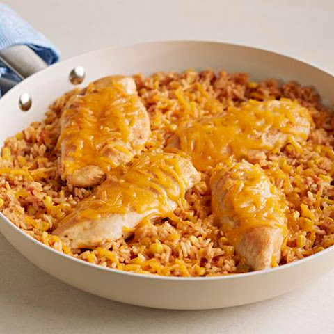 15-Minute Mexican Chicken & Rice Dinner