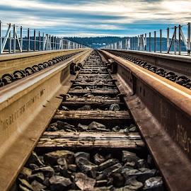 by Peter Murphy - Transportation Railway Tracks