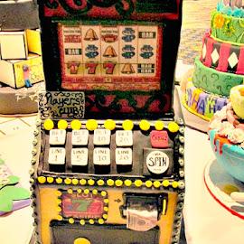 by Dawn Price - Food & Drink Cooking & Baking ( slot machine cake )