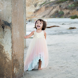 Riley by Charles Lugtu - Babies & Children Toddlers ( san diego, laughs, children, beach, toddlers )