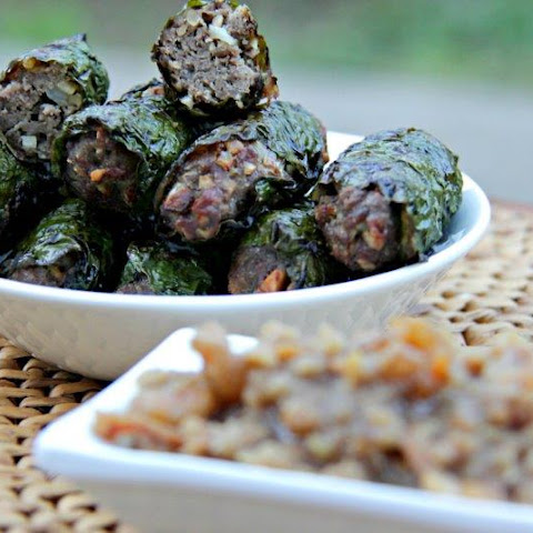 Beef Wrapped in Betel Leaf
