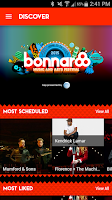 Screenshot of Bonnaroo