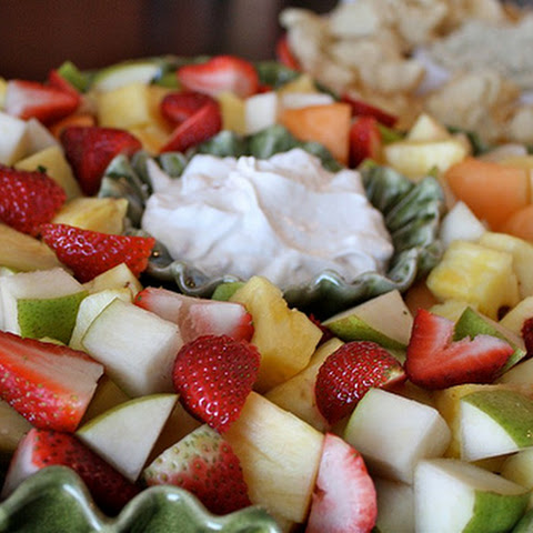 Easy Yogurt Fruit Dip