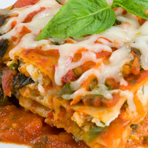 Hearty Vegetarian Lasagna