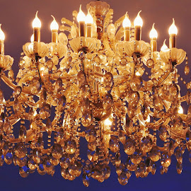 Chandelier Love! by Jay Vardhan Sharan - Novices Only Objects & Still Life ( illuminated, lights, chandelier, bright, still life, beautiful, candles, shining, object, glitter,  )