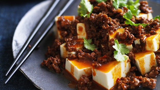 Spicy Hot Beef And Tofu Recipe | Yummly