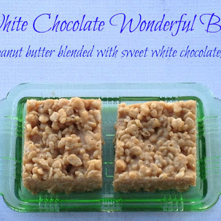 White Chocolate Wonderful Bars