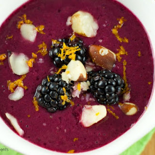 Delicious Mixed Berry Gazpacho
