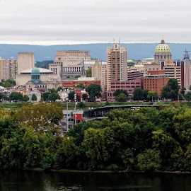 Harrisburg City 2 by Gregory Evans - Buildings & Architecture Office Buildings & Hotels ( harrisburg, cityscape, city )
