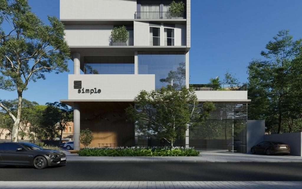 Flat com 1 dormitório à venda, 26 m² por R$ 133.529 - Manaíra - João Pessoa/PB