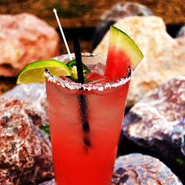 Rita on the rocks by Clarence Hagler - Food & Drink Alcohol & Drinks ( oklahoma city, oklahoma, rock, the power station, margarita,  )