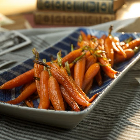 Honey-Roasted Carrots with Sesame Seeds