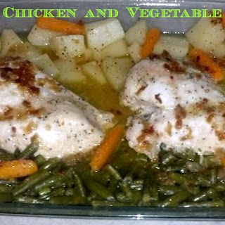 Easy Chicken And Vegetable Bake