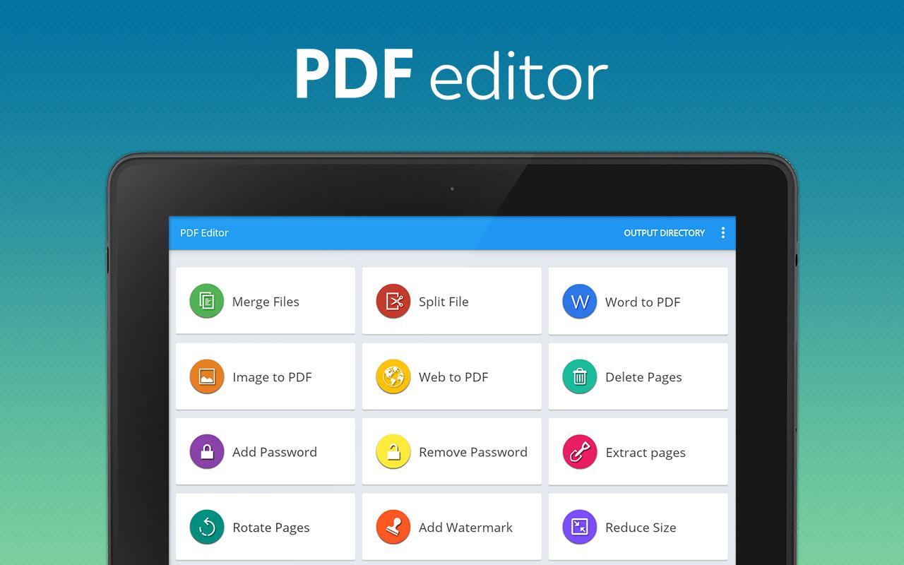 PDF Editor and PDF Converter Screenshot 6