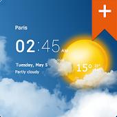 Free Transparent clock weather Pro APK for Windows 8