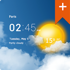Transparent clock weather Pro 0.99.02.12 Apk