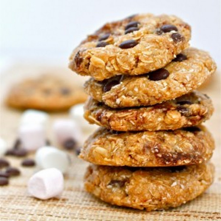 No Bake S'mores Protein Cookies Recipe   Yummly