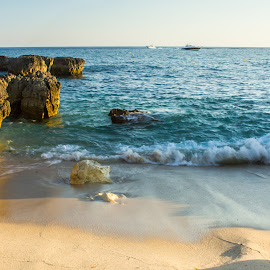 Evaristo's Beach by Adriano Freire - Landscapes Beaches ( praia, rocha, evaristo, algarve, mar, portugal )
