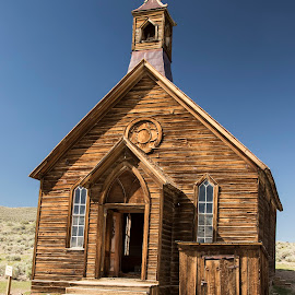 Old Church by Mary Malinconico - Buildings & Architecture Public & Historical