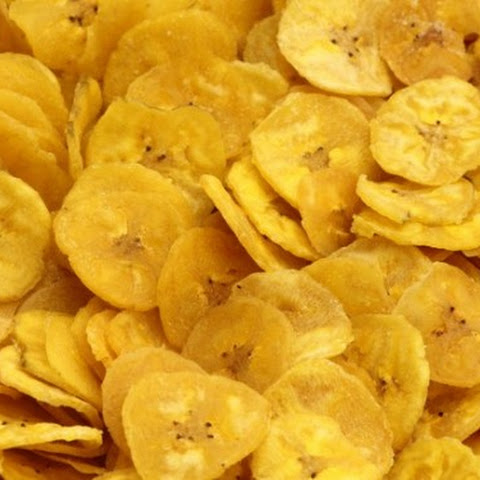 Healthy Homemade Banana Chips