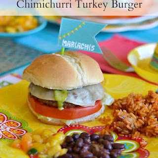 Chimichurri Turkey Burger
