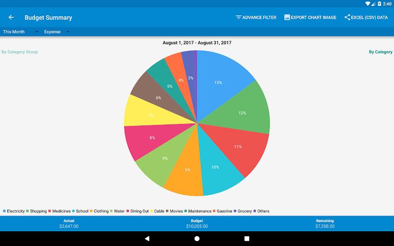 Bluecoins- Finance & Budget Screenshot 11