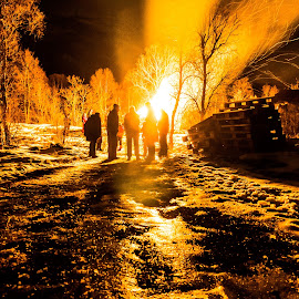 by Bjørnar Røtting - Abstract Fire & Fireworks
